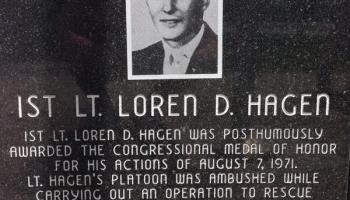 Remembering Green Beret 1LT Loren Hagen Medal of Honor Aug. 7, 1971