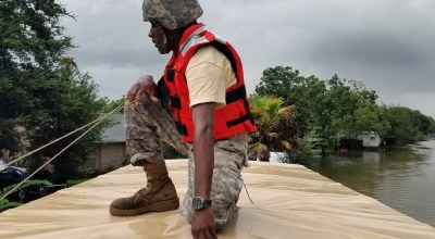 Hurricane Harvey: The Military Response
