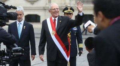 Peru's president urges Venezuela's Maduro to step down