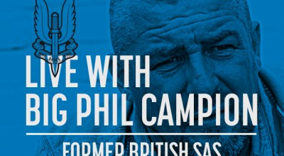 Watch: Live with Big Phil Campion, former British SAS- Aug 14, 2017