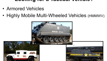 Trump administration to reinstate federal program to provide surplus military equipment to police