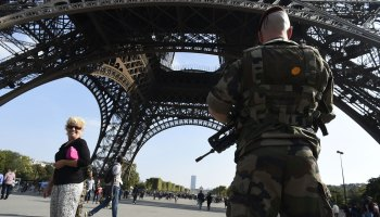 French Police Arrest Suspected Driver of a Car that Slammed into 6 Soldiers