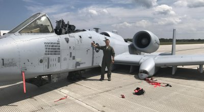 A-10 pilot manages to 'belly land' his plane after gun malfunctions, canopy blows off, and landing gear fails