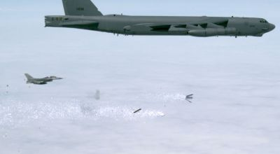 Air Force testing leaflet cluster bombs that could be used to communicate with North Korea's isolated populous