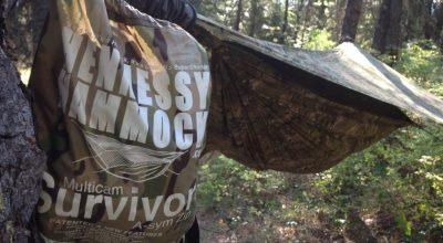 The Hennessy Hammock Survivor | Lightweight comfortable camping