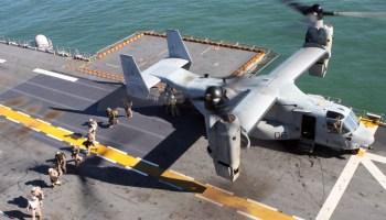 Breaking: US Marine Corps MV-22 Osprey Crashes - 3 Missing