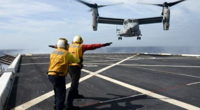 Search for 3 Missing Marines from MV-22 Osprey Crash Suspended