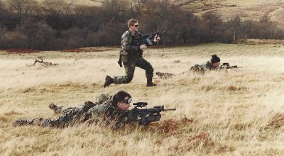 SOF pic of the day: British SAS conducting drills with Delta Force and SOFREP's own George E. Hand IV