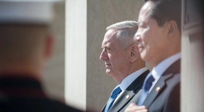 US Ambassador tells UN she's 'perfectly happy' to turn North Korean situation over to 'General Mattis'
