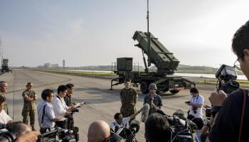 Japan Air Self-Defense Force Conducts Patriot Advanced Capability training at Marine Corps Air Station Iwakuni