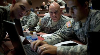 Inside the 11-week, intensive tech boot camp that helps vets get hired