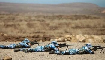 Chinese Troops Live Fire Exercise Show of Force in Djibouti