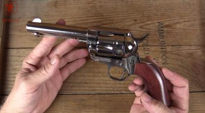 Cimarron's Pistolero in .357 Magnum: 1873 Colt Single Action