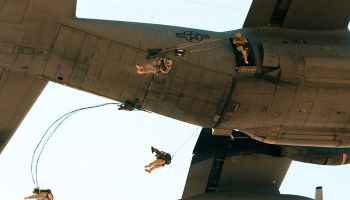 Friday Fun: Watch U.S. Army Paratroopers Jump Out of a Perfectly Good C-130