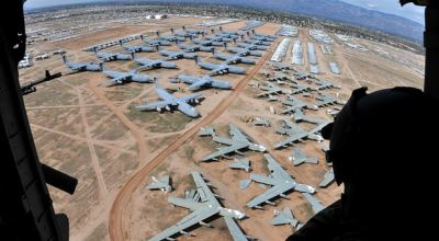 Watch: More From 'The Boneyard' an Aerial View Davis-Monthan AFB