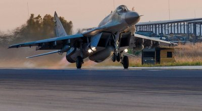 Russia just deployed its upgraded MiG-29 to Syria for the first time