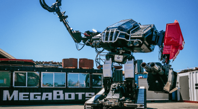 Watch: America's 12 ton battle mech slated to take on monster bots from Japan and China this month