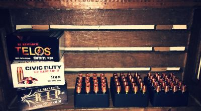 Copper is king for G2 Research ammunition
