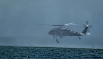 SOF Pic of the Day: Marine Raider helocast training