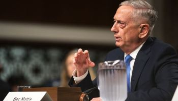 Mattis says Trump still backs diplomacy with NK, suggests keeping Iran nuclear agreement