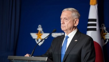 Mattis in Seoul: Use of nukes by NK 'will be met by a massive military response'