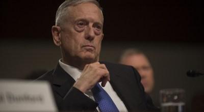 Watch: Secretary of Defense James Mattis explains how he got the call sign, 'Chaos'