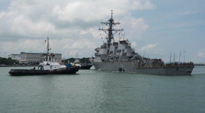 Navy relieves command of USS John S. McCain following collision investigation
