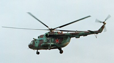 Russian chopper that went down Thursday found by drone on the Arctic sea bed