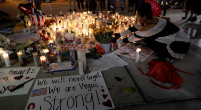 Unarmed security guard braved 200 rounds, took one to the leg, approaching Vegas shooter's room