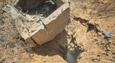 Seven Palestinian militants killed as Israel blows up tunnel from Gaza