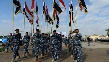 Iraqi forces demand Kurdish troops' withdrawal from Kirkuk area