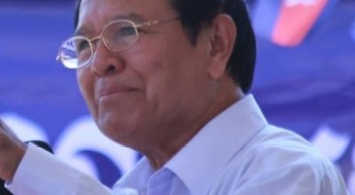 Cambodia's detained opposition leader denies treason charges