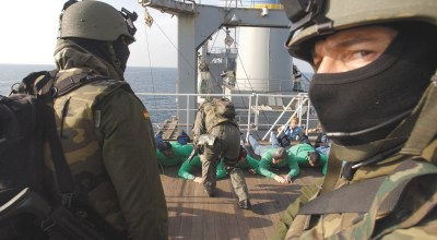 SOF Pic of the Day: Spanish special operations forces aboard the USNS Saturn
