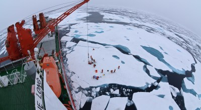 China makes moves on the Arctic with milestone icebreaking mission