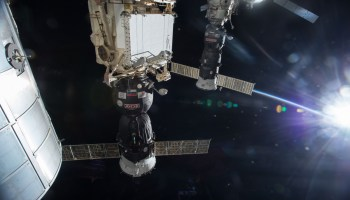 Russia scrubs launch of ISS resupply mission with secret device seconds before liftoff