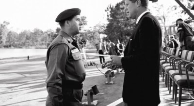 On this day in SOF history—October 12th: JFK authorizes the wear of the Green Beret