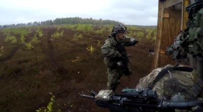 Watch: US paratroopers simulate combat ops against a Russian invasion in Latvia