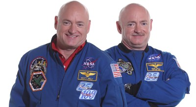 NASA Twins Study shows genes fire differently in humans during space flight