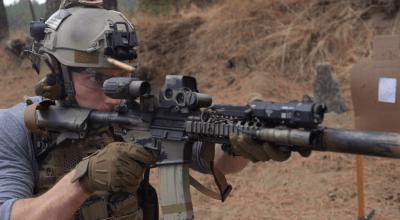 Watch: MK18 Mod 1 short barreled rifle setup