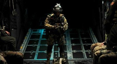 SOF Pic of the Day: Special Tactics Airmen prepare for HALO jump