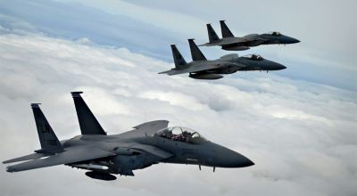 F-15s were scrambled to intercept an unidentified stealth aircraft spotted over West Coast