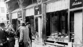 Kristallnacht- Night of the Broken Glass, The Holocaust Begins in Germany
