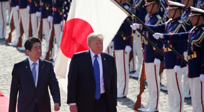 In Japan, Trump indicates a way for North Korea to warm relations… but it's a long shot