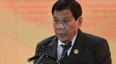Philippine President Duterte admits to stabbing man to death when he was 16