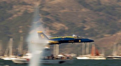 Watch: US Navy Blue Angels sneaky low passes! How low can you go?