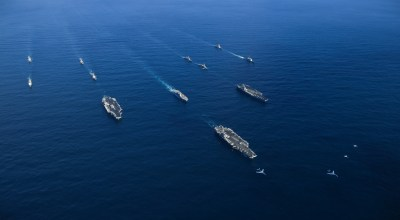 Watch: Unique Behind the Scenes Viewpoint from the Deck of the USS Nimitz – 3 Carriers in Same Waters
