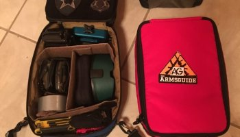TUFF Products accessory bags: Color-coded to organize your magazines and gear