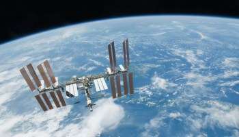 Russian cosmonaut claims to have found alien bacteria on hull of ISS