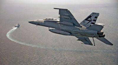Watch: Flight operations on the USS Gerald R. Ford CVN 78