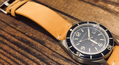 Spinnaker Fleuss SP-5055 provides an affordable vintage dive watch option